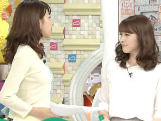 2014/04/25 めざましテレビ【カトパンのオッパイがイイ】
