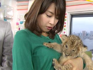 2014/04/28 【めざましテレビ カトパンのオッパイ】